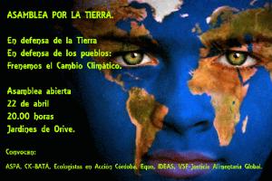 cartel día de la tierra 2015