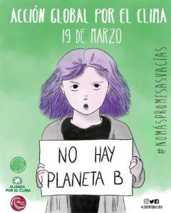 Acción Global por el Clima. ¡No hay planeta B!